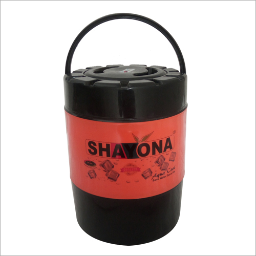 Shayona red black insulated water jug
