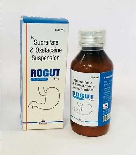 SUCRALFATE 1GM+OXETACAINE 20MG/10ML