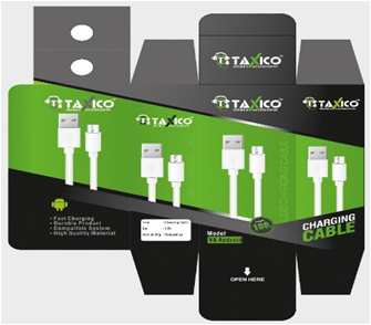 TX-1110  2.4Amp FAST CHARGING CABLE