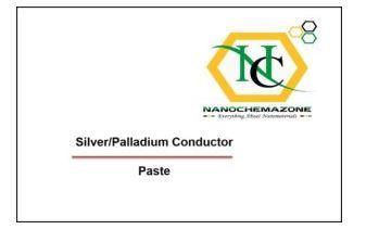 Silver-Palladium Conducting Paste