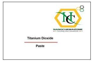 Titanium Dioxide Paste