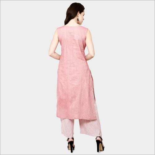 Ladies Cotton Plain Kurti