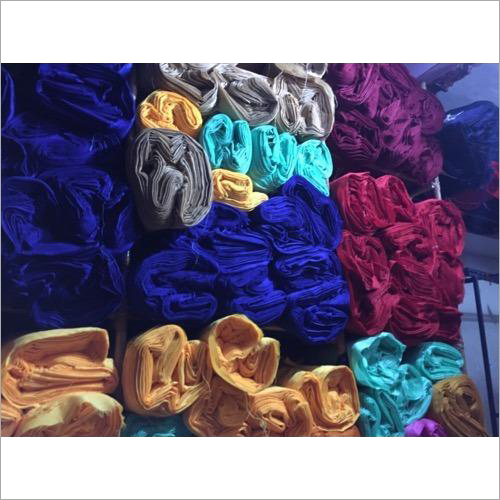 Dyed Banglori Silk Fabric