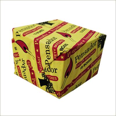 Wooden Matches Box