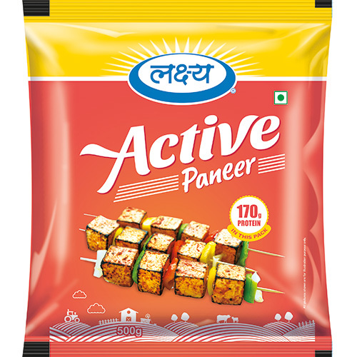 Active Paneer Packaging