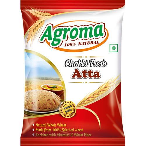 5kg Agroma Chakki Fresh Atta Packaging