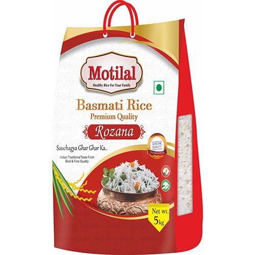 5kg Motilal Basmati Rice Packaging