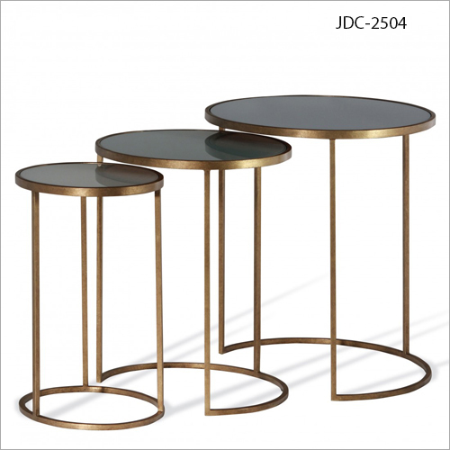 Wrought Iron Nesting Coffee Table