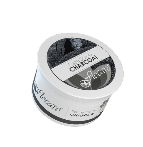 Flocare Charcoal Face Scrub
