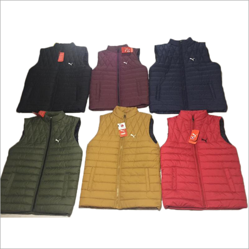 Mens Sleeveless Puffer Jacket