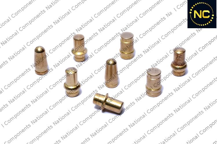 Brass roller pen parts nozzle