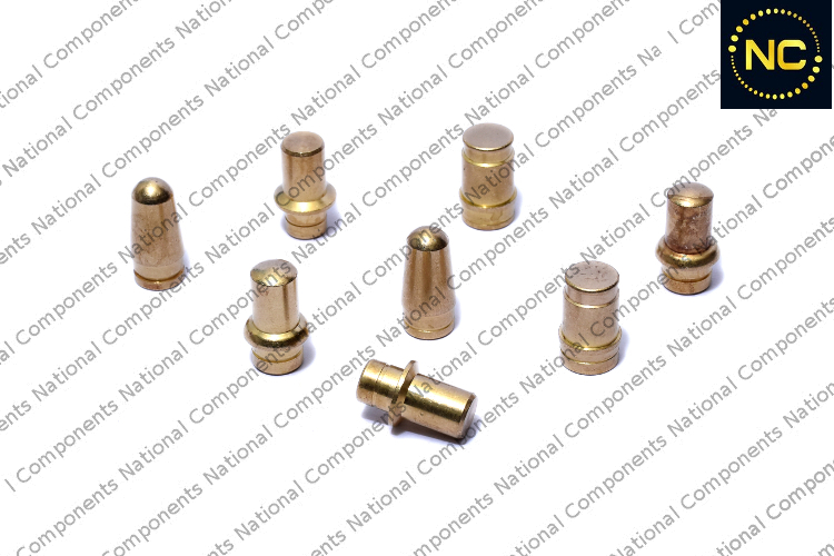 Brass roller pen parts nozzle