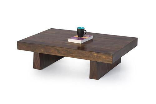 Solid wood center coffee table Modesto