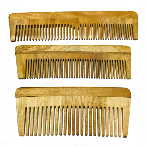 Straight Hair Wooden Comb