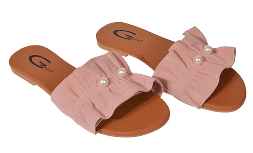 Ladies Flat Mule Sandals