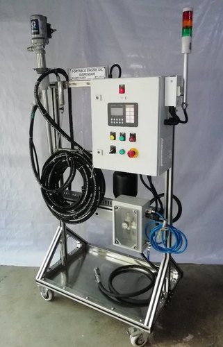 Engine Oil Dispensing Machine