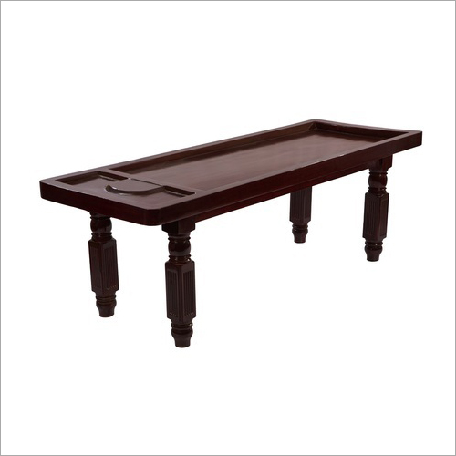 FRP Massage Shirodhara Table