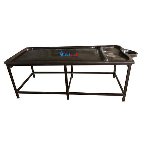 FRP Massage Steel Stand Table