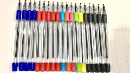 Hello Rubber grip Ball Pen