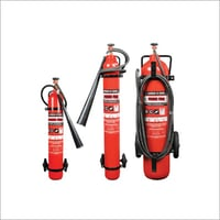 Trolly Mounted Carbon Dioxide Fire Extinguisher
