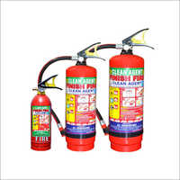 ABC Type Clean Agent Fire Extinguisher