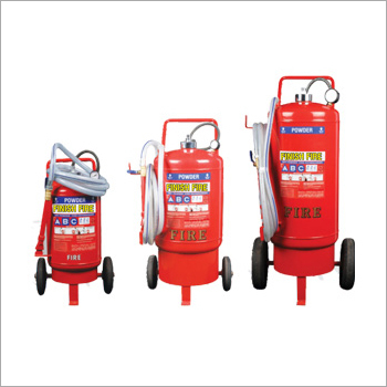 Dry Powder Trolley Mounted Fire Extinguisher