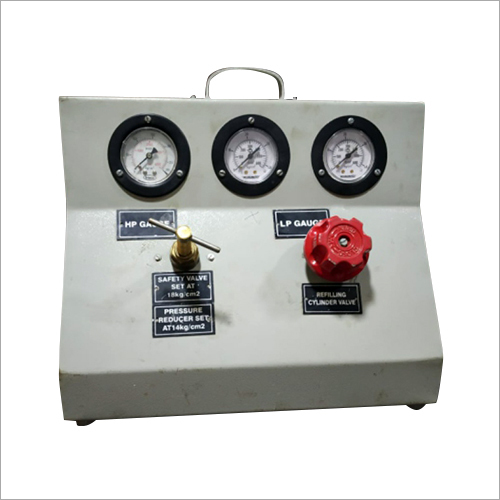 ABC FIRE EXTINGUISHER GAS Refilling Machine