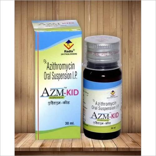 Azithromycin 200 mg per 5 ml