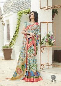 Fancy Printed Saree