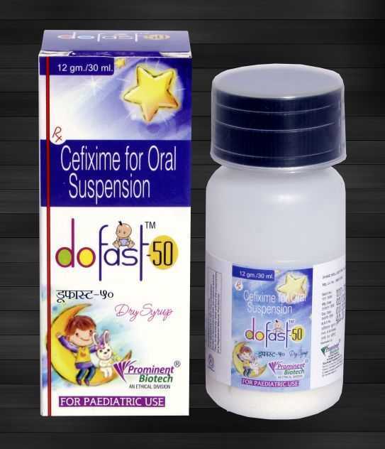 Cefixime 50 mg Per 5 ml