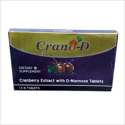 Cranberry Extract With D-Mannose Tablets
