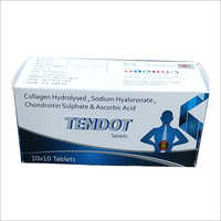 Collagen Hydrolysed Sodium Hyaluronate Chondroitin Sulphate And Ascorbic Acid Tablets
