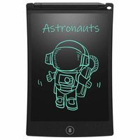 Pack Portable Electronic Reusable Erasable LCD Writing Tablet for Kids, 8.5-inch (Multicolour)