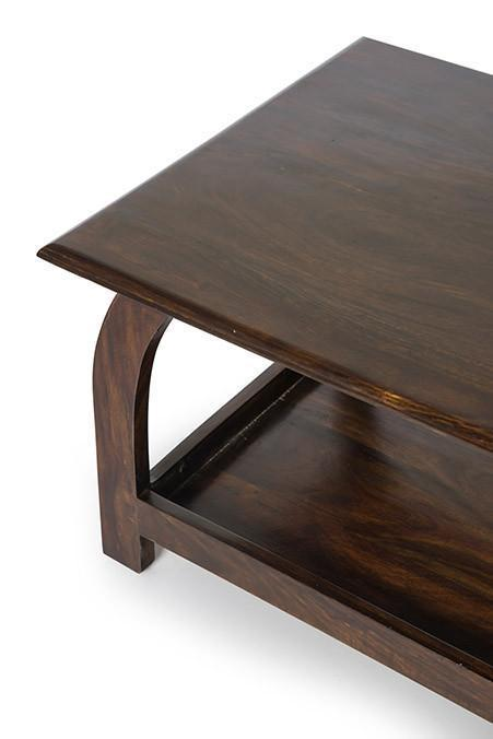 Solid wood Center coffee table Windflower