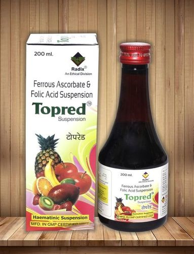 Iron Tonic (Ferrous Ascorbate 30 Mg,Folic Acid 550 Mcg Per 5 Ml)