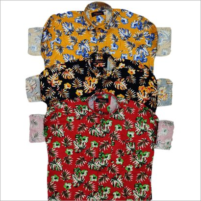 Available In Different Color Mens Party Wear Shirt