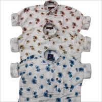 Mens Designer Print Shirt