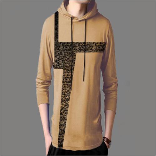 Mens Hoodie T-Shirt
