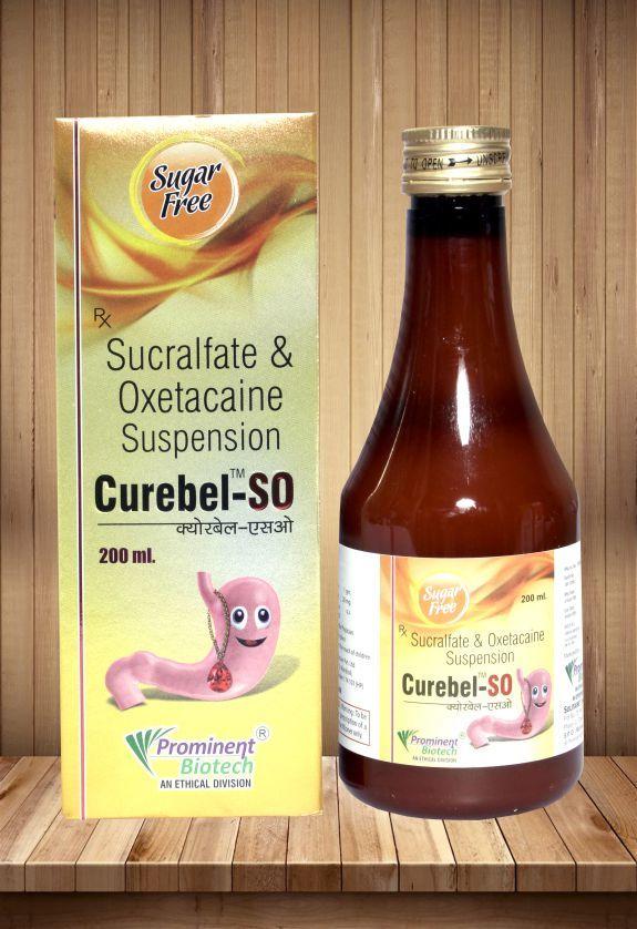 Sucralfate 1 gm & Oxetacaine 20 Mg Per 10 ml