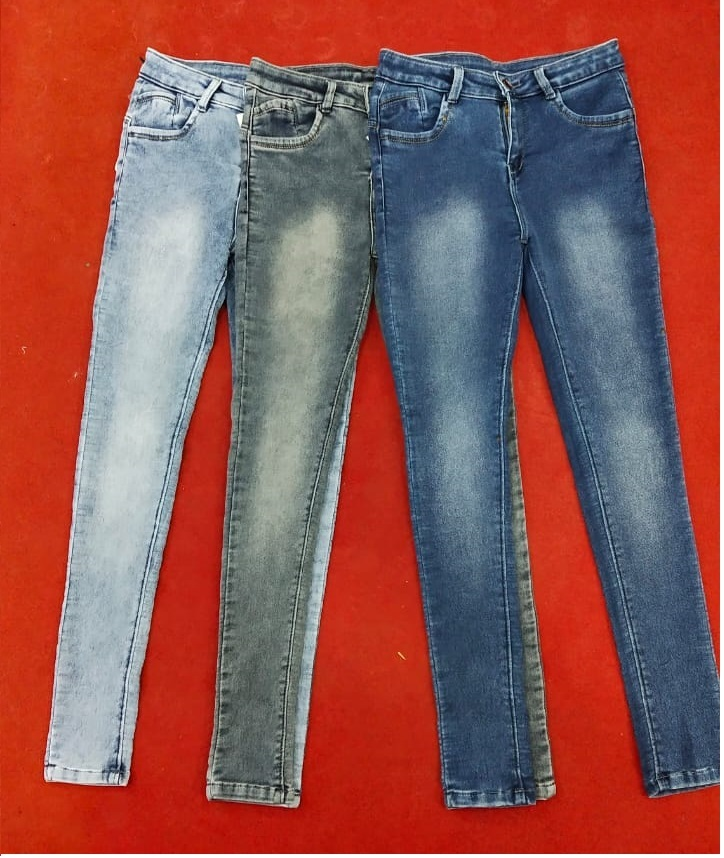 Stretchable Girls Jeans