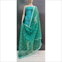 Kota Doria Block Print Suits