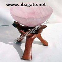 Rose Quartz Bowls
