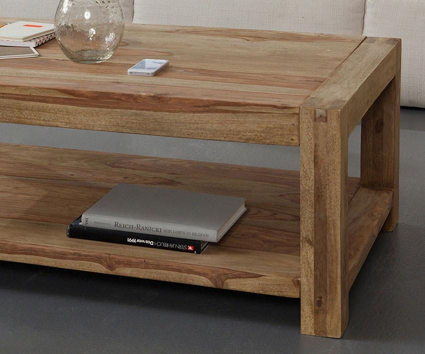 Solid wood center coffee table Absolute