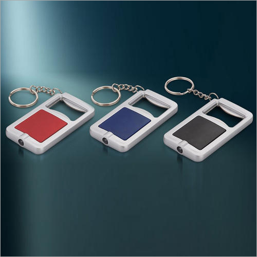 3 In 1 Keychain With Opener And Torch