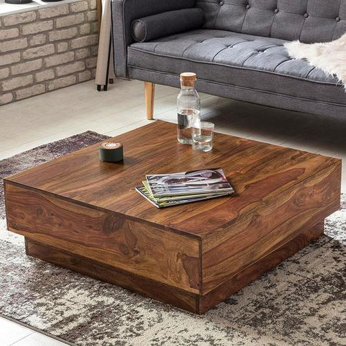 Solid wood Center coffee table Cubex