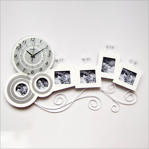 Customized Photo Frame Wall Clock