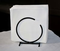Kitchen Napkin Holder, Kitchen Paper Towel Tissue Holder Black
