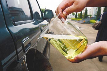 Liquid Biodiesel Oil