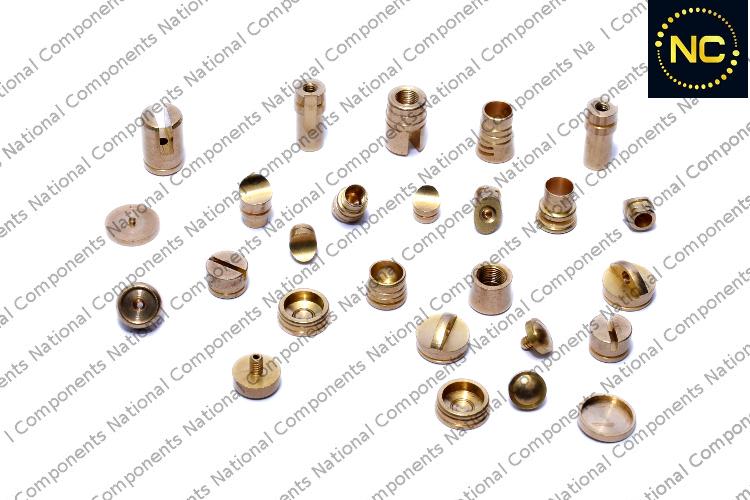 Brass Ball Pen Push Button Part