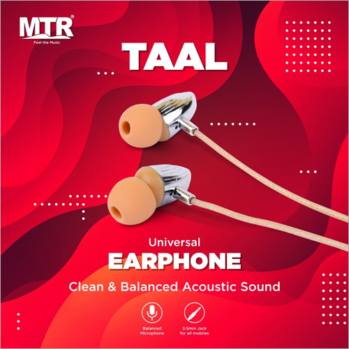 Universal Acoustic Earphone